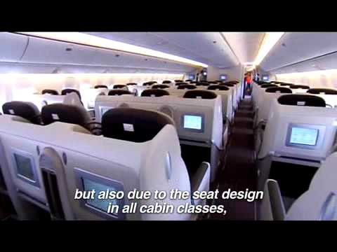 Air france teasing arrive dans la flotte du 777 300er for Interieur avion air france