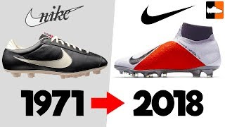 The Evolution of Nike Football Boots! Soccer Cleat History
