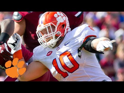 Clemson's Ben Boulware Forces BC Fumble, Targeting Call Overturned