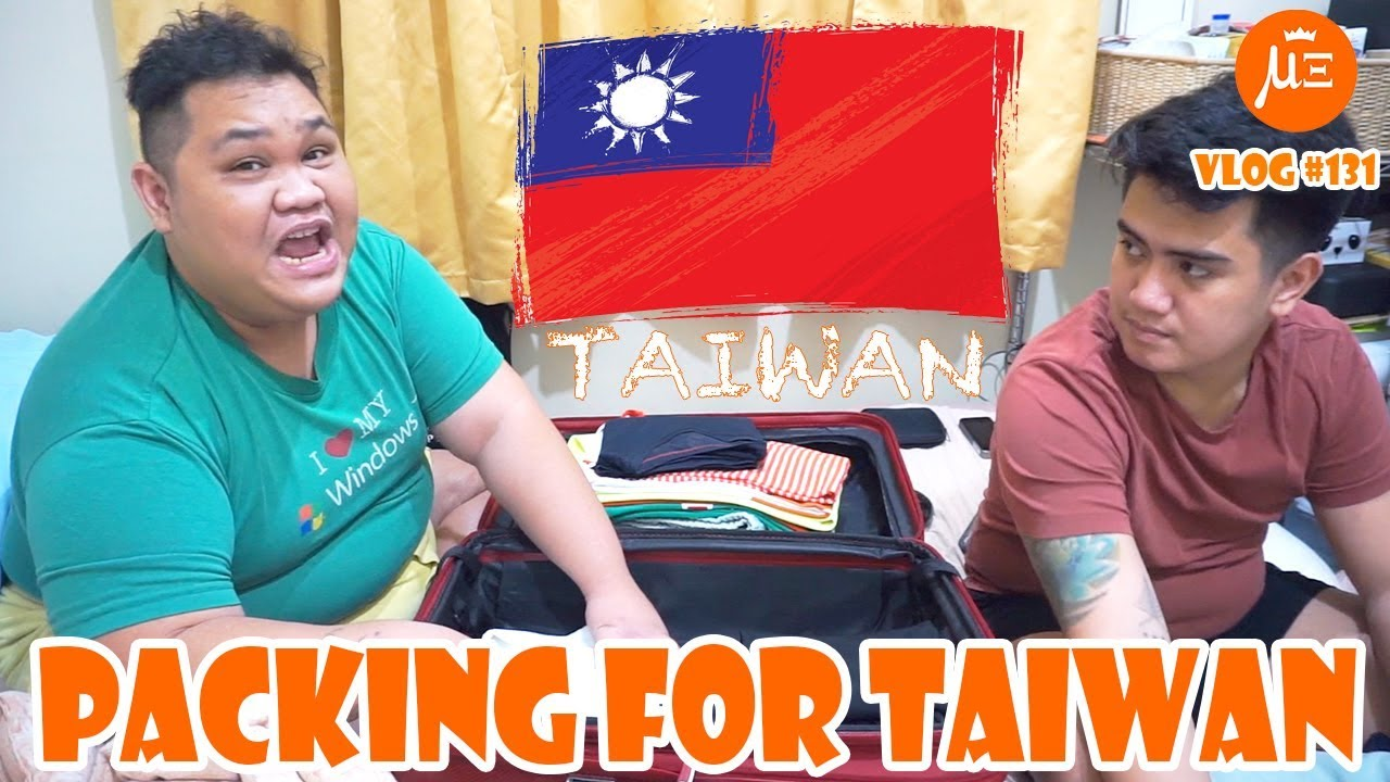 HOW WE PACK FOR TRAVEL (TAIWAN 2019) | VLOG #131