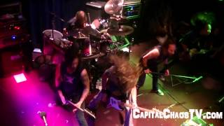 "DEATH ANGEL ""Kill As One"" in Oakland 10/25/12 on CAPITAL CHAOS TV"