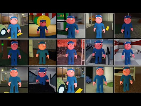 ROBLOX Piggy 2 New  Grandpa Capitan Jumpscare INFECTEDDEVELOPER'S PIGGY!