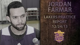 Lakers Practice: Jordan Farmar Cleared To Play Christmas, Makes Fun Of Nick Young