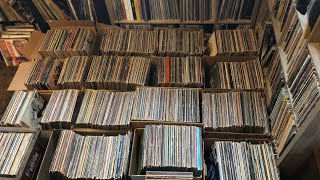 I bought a GIANT RECORD COLLECTION! Over 3,000 Vinyl Records!