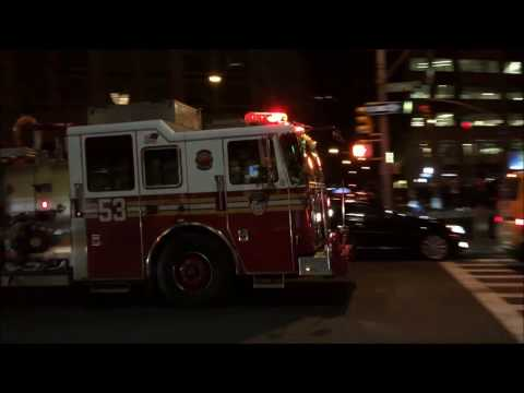FDNY RESPONDING & BATTLING A 10-77 4TH ALARM HIGHRISE FIRE ON WEST 59TH STREET WITH NEWS CONFERENCE.