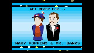 How to Draw as Mary Poppins & Mr. Banks