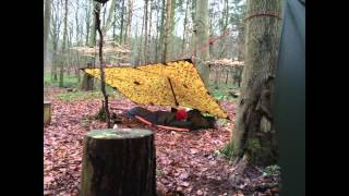 Micro Wild Camp at Robins Wood Derbyshire