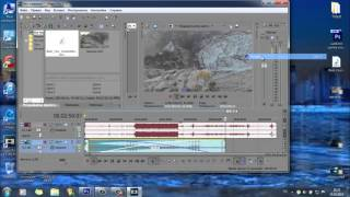 Как добавить музыку в видео при помощи Sony Vegas Pro 13(Быстрый простой способ наложения музыки на видео!!!, 2015-10-20T18:13:19.000Z)