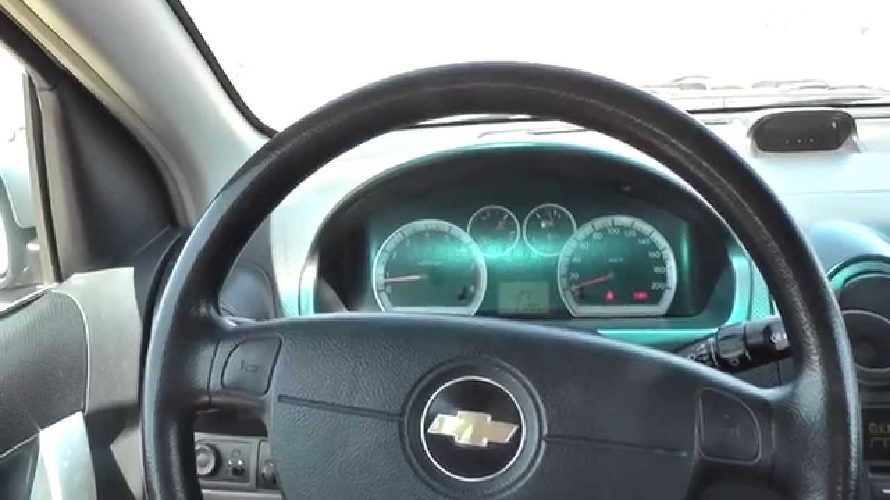 Chevrolet Aveo Interior Review