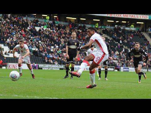 HIGHLIGHTS: MK Dons 2-1 Bury