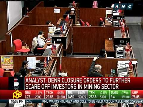 Mining stocks plunge with DENR's closure, suspension of mining firms