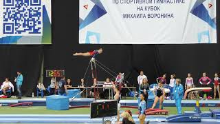 Voronin cup 2017/ Геля Мельникова/ брусья