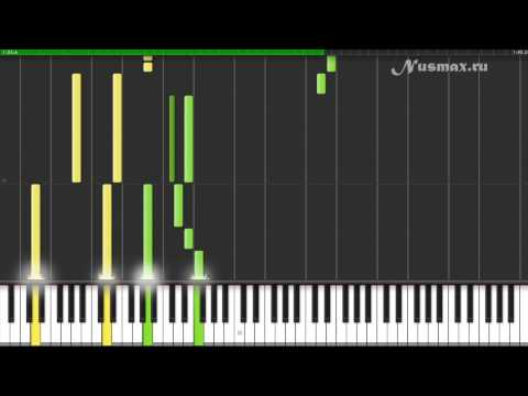 Klaus Badelt  Medallion Calls Pirates of the Caribbean Piano Tutorial Synthesia + Sheets + MIDI