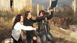 На съёмках клипа - 2