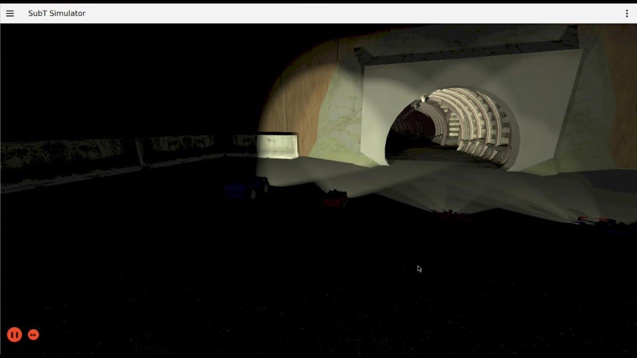 DARPA SubT Tunnel Circuit Simulation & Test Run with Multiple UGV & UAV (Part 7)