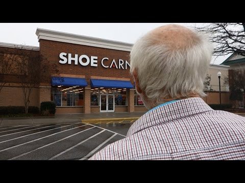 SHOE SHOPPING WITH ANGRY GRANDPA