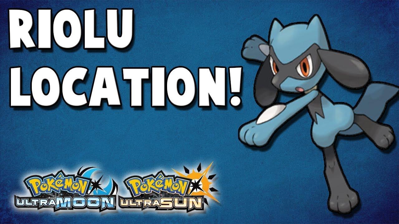 Where To Catch Riolu 377 In Pokemon Ultra Sun And Ultra Moon