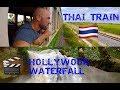 Thai Train : Bangkok to Khao Yai Park + waterfall from The Beach movie