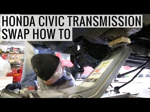 How To Swap A Honda Civic Transmission in 2 Hours