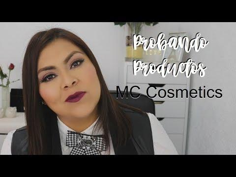 Probando Productos Nuevos de MC Cosmetics | Hilda Portillo