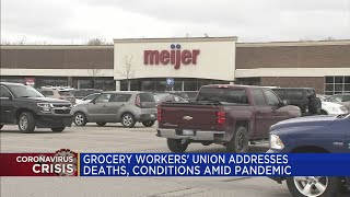 Grocery workers' union addresses deaths, conditions amid pandemic