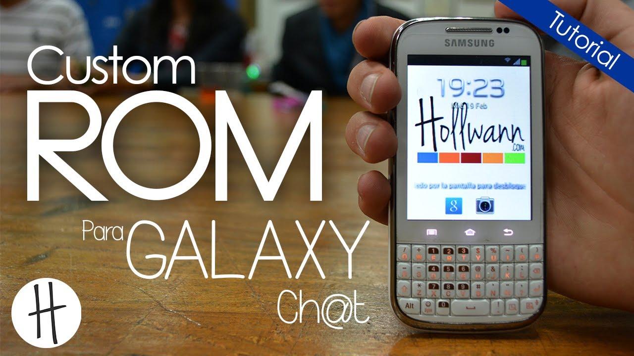 custom rom untuk samsung galaxy chat b5330