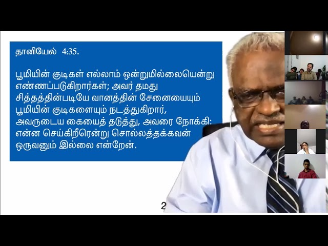 All Desires Will Be Satisfied - Tamil Sermon By Pastor Shadrach Samuel