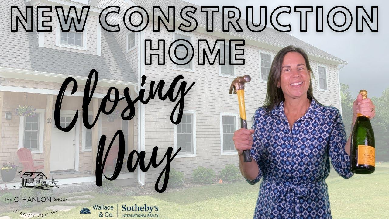 New Construction on Martha's Vineyard - Final Process