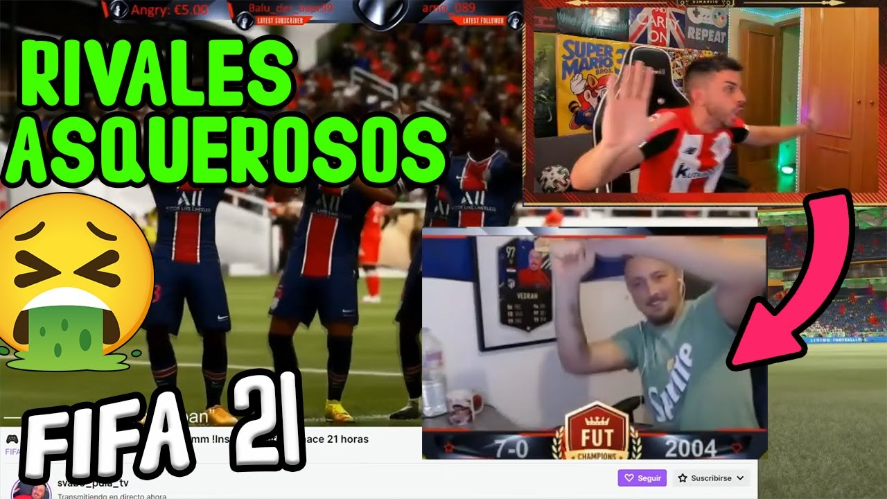 LOS 2 RIVALES MAS ASQUEROSOS DE DjMaRiiO DE TODO FIFA 21