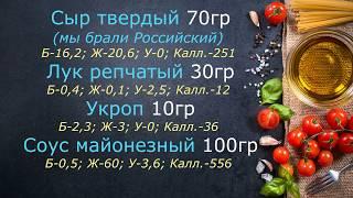 Простой рецепт салата с минимум калорий