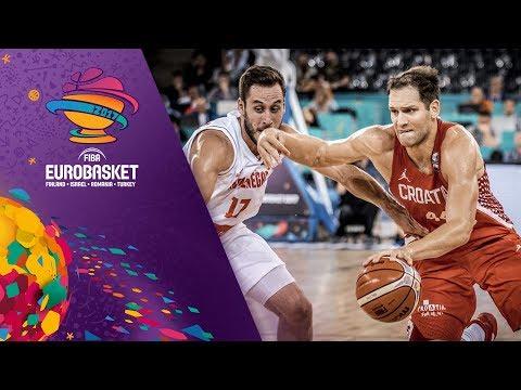 Montenegro v Croatia - Full Game - FIBA EuroBasket 2017