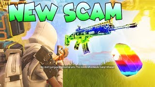 *NEW SCAM* Magnet Gun Scam! (Scammer Gets Scammed) Fortnite Save The World