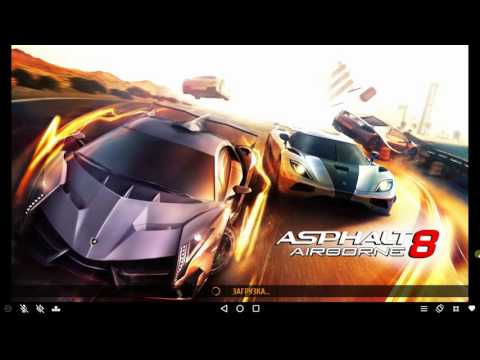 Эмулятор Android Andy для PC - обзор, тест Asphalt 8