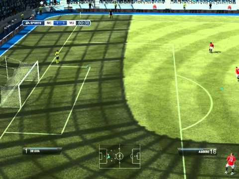 Let's play FIFA12 #1 Manchester City - Manchester United