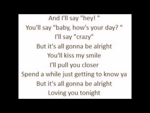 Loving You Tonight  Andrew Allen Lyrics