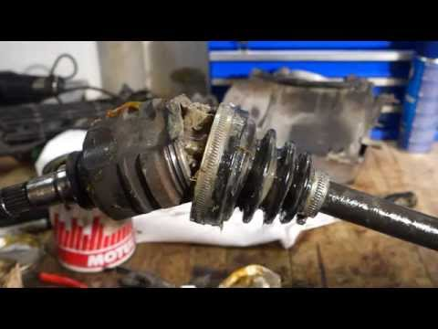 How to replace driveshaft boot Toyota Corolla. Years 1991 to 2010.