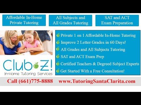 SAT Prep Santa Clarita and Valencia ACT Tutors and SAT Tutoring SAT Prep Classes