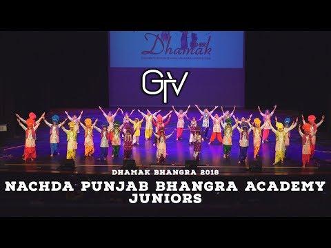 Nachda Punjab Bhangra Academy Juniors – Dhamak Bhangra 2018