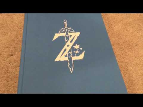 Unboxing The Legend Of Zelda Breath Of The Wild Creating A Champion: Hero's Edition