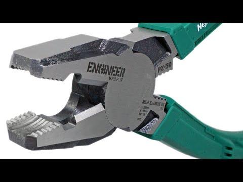 Cleste Patent Combinat Extragere Suruburi Rupte ENGINEER PZ-59 (patentul Minune) PRIMELE TESTE