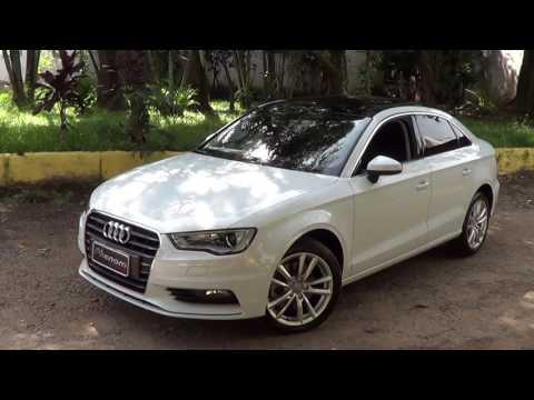 Audi A3 2.0T 220cv - Ambition - teste dinâmico - Informações - Impressões - Phenom Veículos