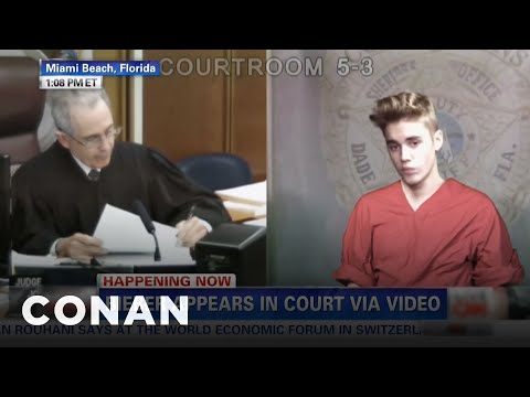 Justin Bieber's Bratty Court Appearance