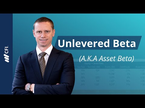 Unlevered Beta (Asset Beta)