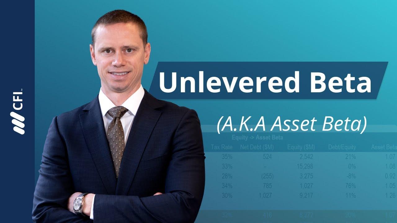 Equity Beta and Asset Beta Conversion Excel Model Template - Eloquens