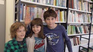 Это неожиданно, но дети ходят в библиотеку и круто развлекаются там. Неожиданная встреча с Алексеем.