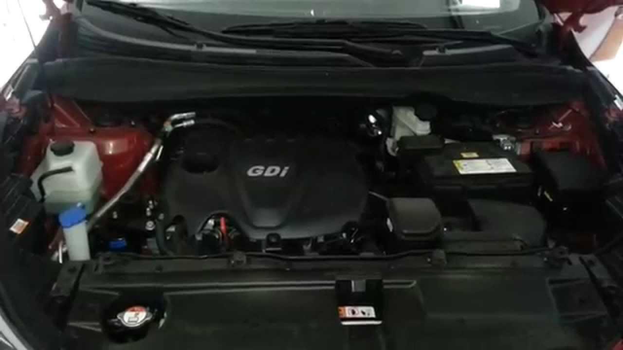 2014 Hyundai Tucson SUV - Theta II 2 4L I4 Engine Idling After Oil Change &  Spark Plugs Check