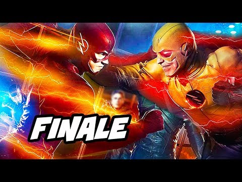 The Flash Season 5 Episode 22 Finale TOP 10 WTF and Easter Eggs