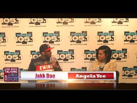 The Breakfast Club's Angela Yee sits w/ Jakk Doe [Juice Bar,Family & More]
