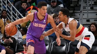 Pelicans Call Timeout They Don't Have OT! Booker 40 Pts! 2018-19 NBA Season