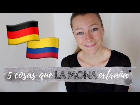 LO QUE EXTRAÑA UNA ALEMANA DE COLOMBIA | Mango Mama